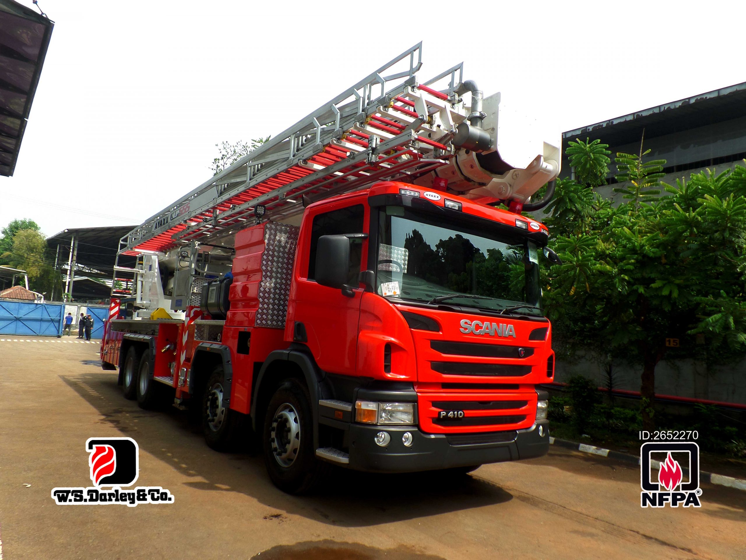 fire ladder indonesia