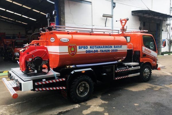Firetruck water supply ayaxx_