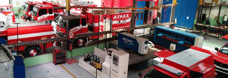 Berkenalan dengan produsen mobil pemadam AYAXX