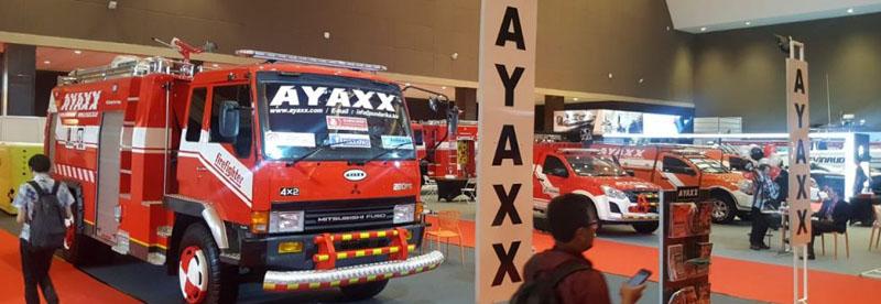 Mobil Pemadam Kebakaran AYAXX Di IIMS 2019