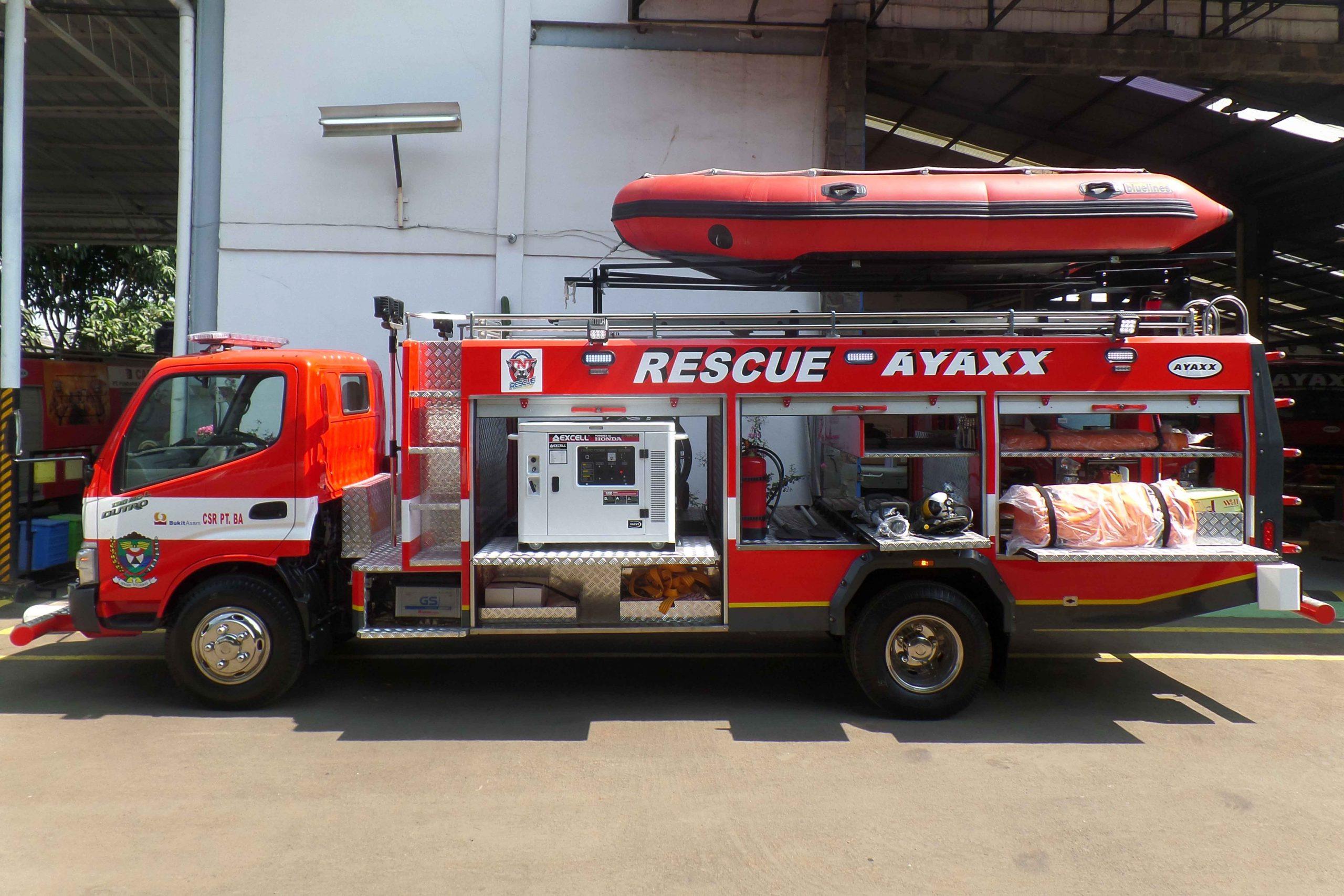 ayaxx rescue truck