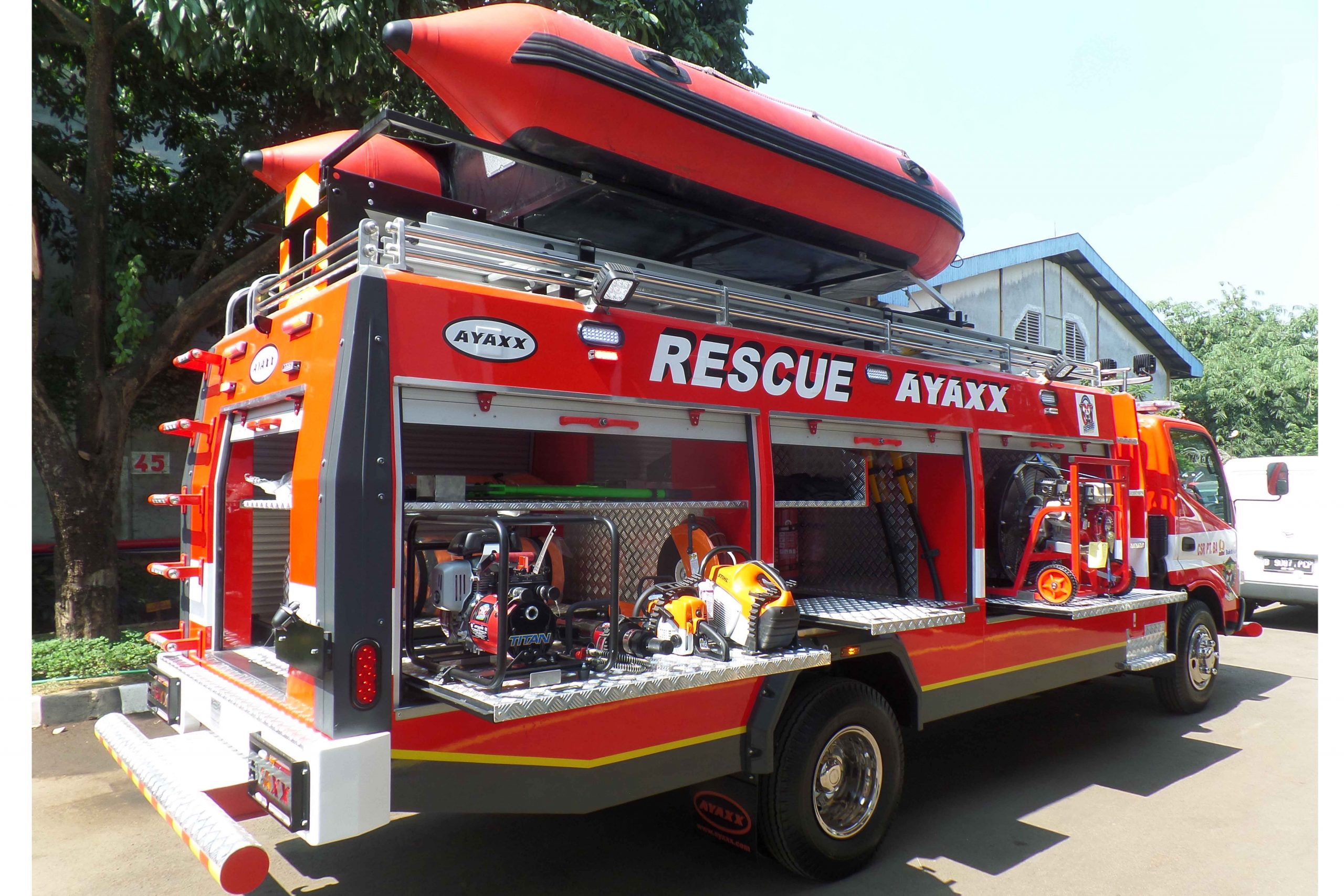 rescue truck ayaxx