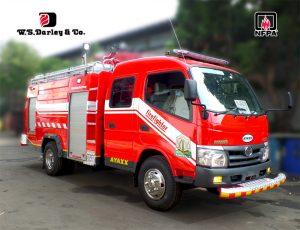 firetruck double cabin ayaxx