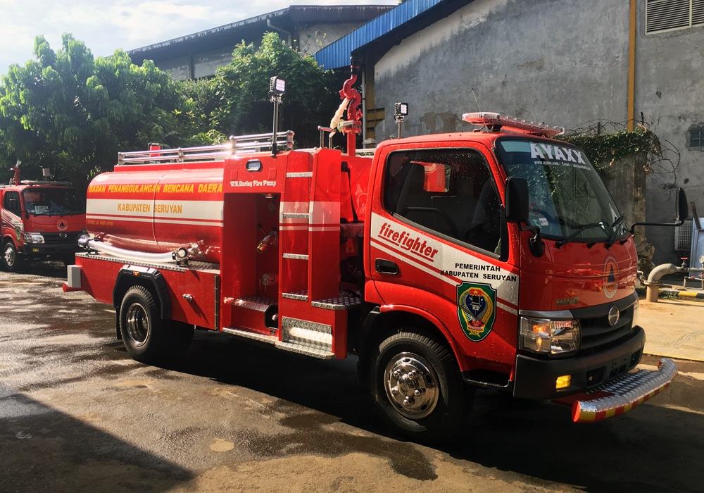 fire truck water suplly pto pump ayaxx