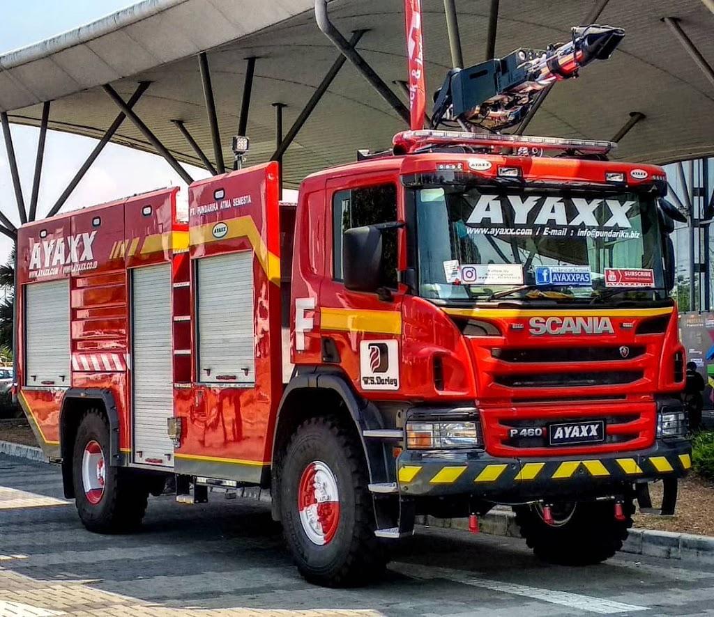 Mobil Damkar AYAXX Dibuat Dengan Alat Canggih ini?